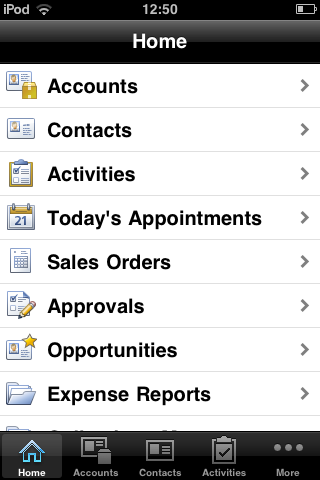 SAP Business ByDesign for iPhone - Demo: Approve Supplier Invoice