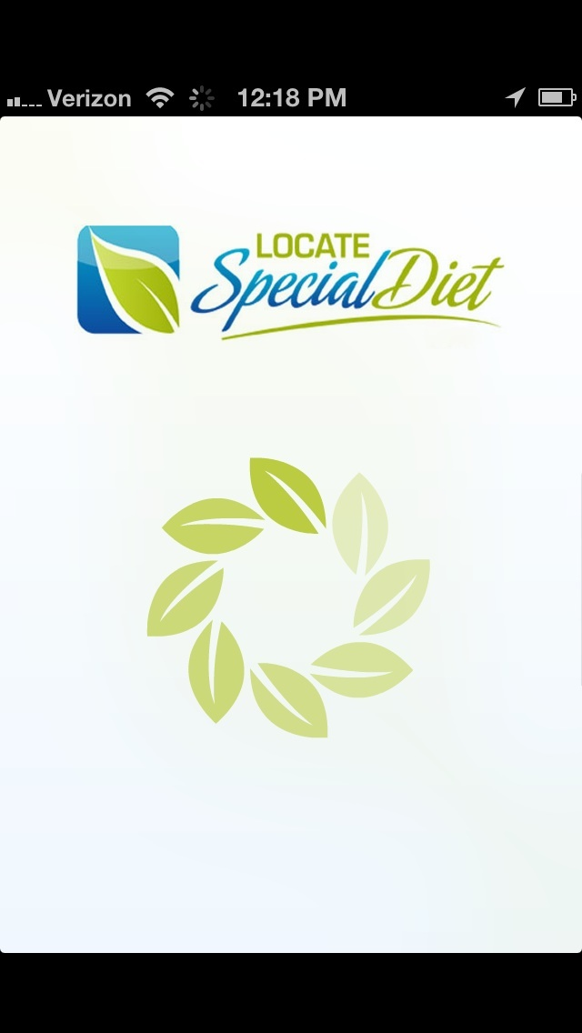 Locate Special Diet Demo